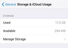 動画閲覧後にiPhoneの容量が突然減った時の対策